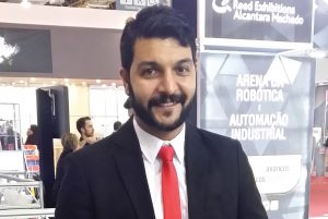 Rogério Vitalli, fundador do I.A.R. (Instituto Avançado de Robótica®)