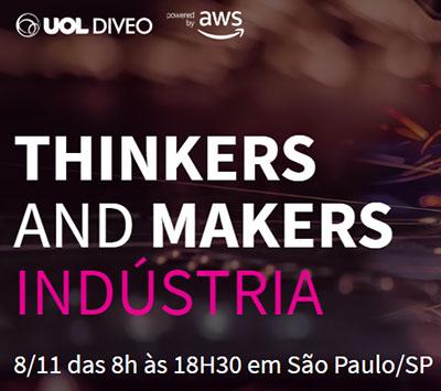 """3ª edição do Laboratório de Inovação """"Thinkers and Makers"""""""