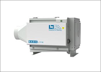 Sistema de filtração compacto BASIC Line Solid da LTA Lufttechnik GmbH