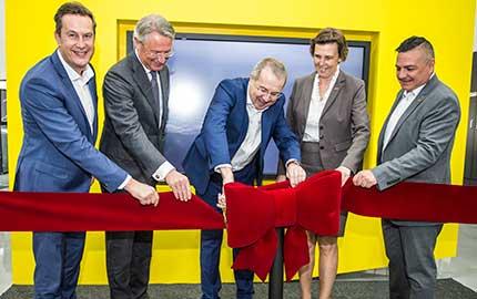 Inauguração da nova sede da Sandvik