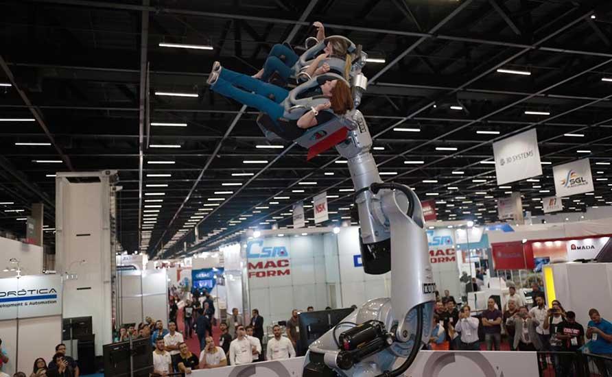Robo Coaster da Kuka Roboter