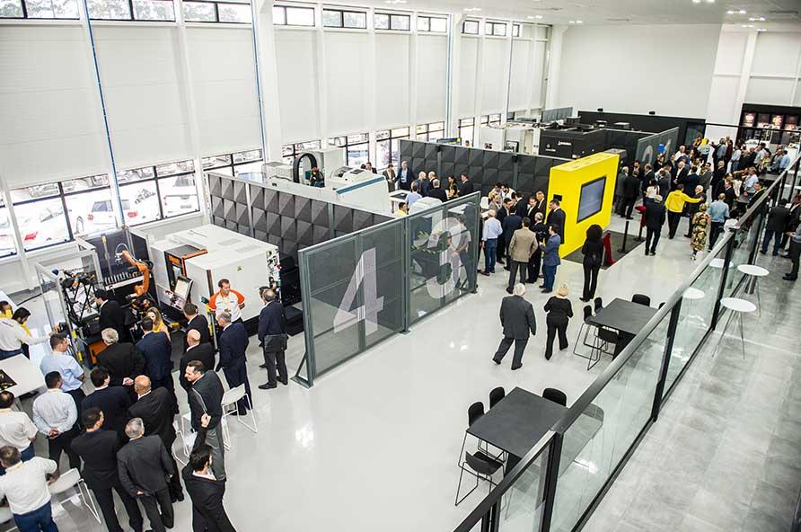 Inauguração da nova sede da Sandvik Coromant em Jundiaí
