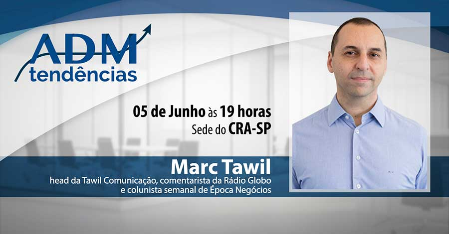 CRA-SP recebe o Top Voice do LinkedIn, Marc Tawil