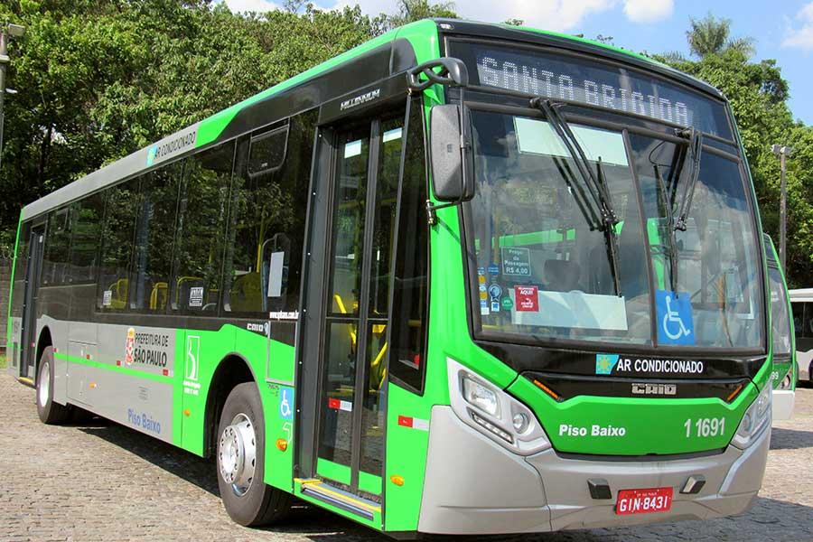 Novo ônibus Volvo B250R