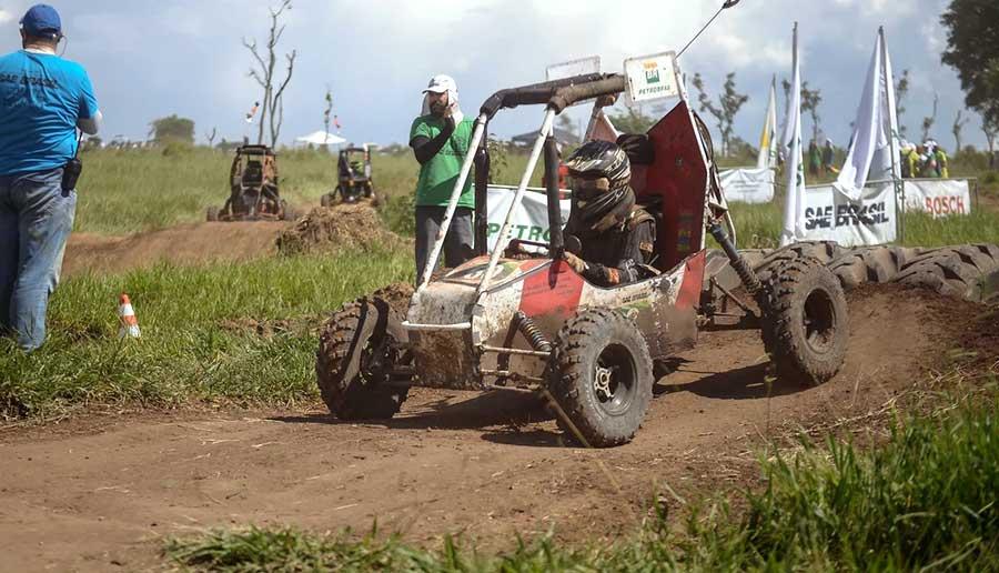 Veículo da FEI Baja desenvolvido para a edição nacional da Baja SAE Brasil