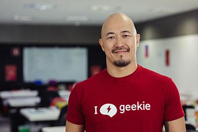 Claudio Sassaki, cofundador da Geekie