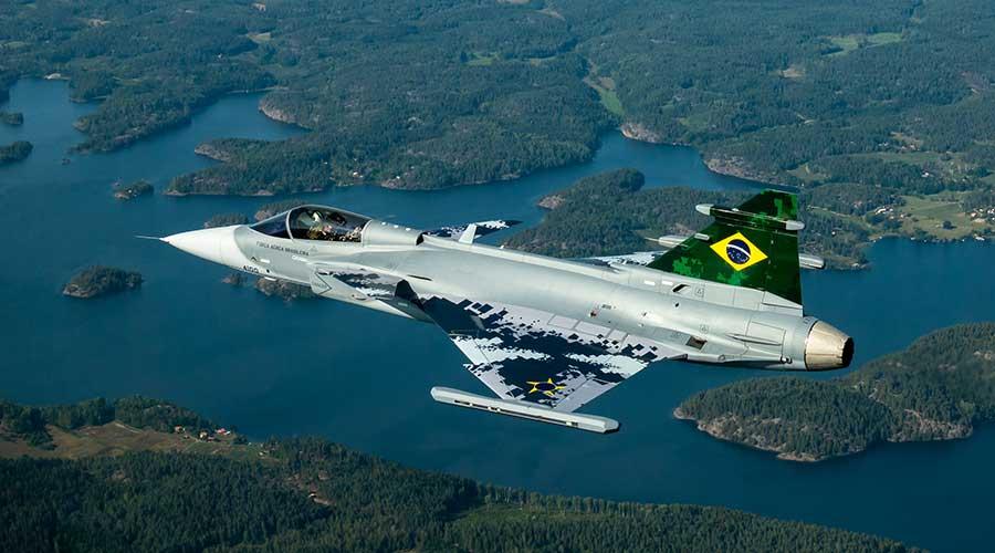 Primeiro Avião Gripen E Brasileiro