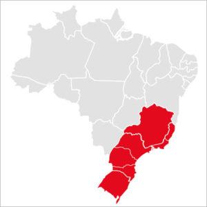 Mapa Roadshow da ABB