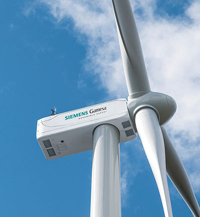 Turbina eólica Siemens Gamesa