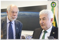 Marcos Pontes e Jorge Guimarães