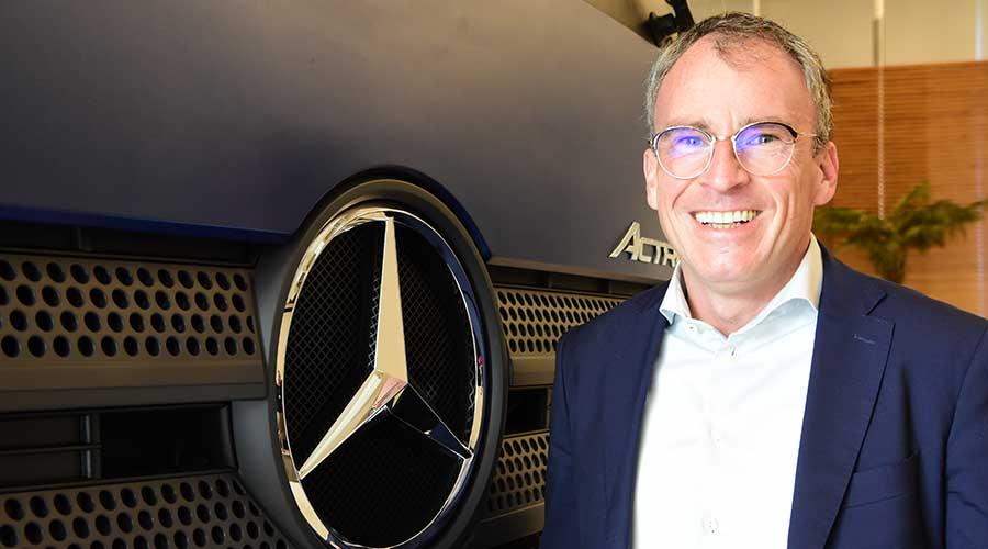 Matthias Kaeding, novo diretor de Compras da Mercedez-Benz do Brasil