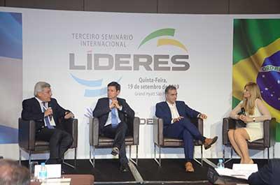 Painel 3: Indústria 4.0 - Martín Berardi, João Campos, Pablo Di Si e Cecilia Luchía-Puig | Terceiro Seminário Internacional Líderes