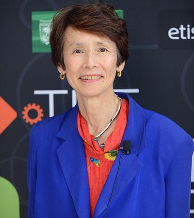 Yoko Ishikura, professora emérita da Universidade Hitotsubashi
