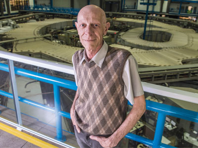 Foto retrato do Professor Antonio Ricardo Droher Rodrigues