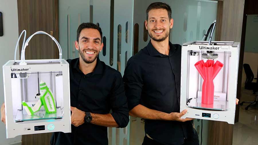 Os diretores da Wishbox Technologies Tiago e Rodrigo Marin
