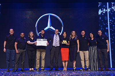 Mercedes-Benz vence prêmio Top of Mind 2019 da Folha