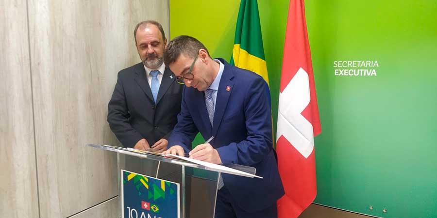 EMBRAPII assina parceria com Innosuisse, a agência de inovação da Suíça