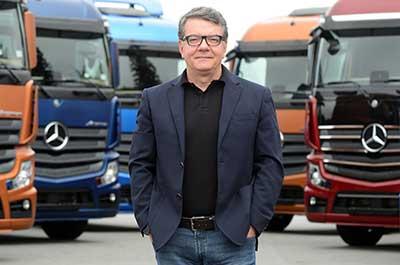 Roberto Leoncini, vice-presidente de Vendas e Marketing Caminhões e Ônibus daMercedes-Benzdo Brasil